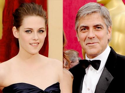 Kristen Stewart, George Clooney