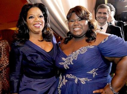 Oprah Winfrey, Gabourey Sidibe
