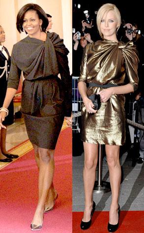 Charlize Theron, Michelle Obama