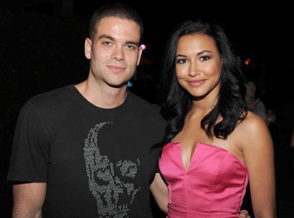 Are puck and santana from glee dating in real life