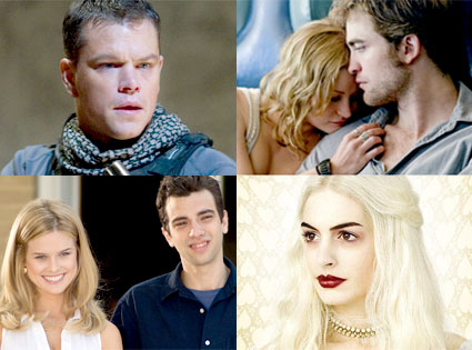 Matt Damon, Green Zone, Emilie de Ravin, Robert Pattinson, Remember Me, Jay Baruchel, Alice Eve, She's Out of My League, Anne Hathaway, Alice in Wonderland