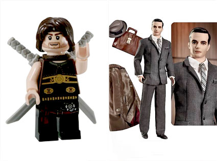 Prince Of Persia, Lego, Mad Men, Action Figure