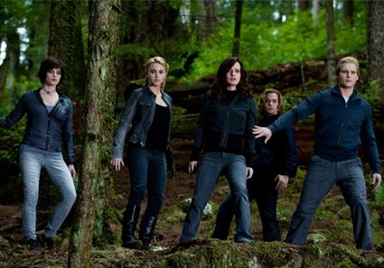 Ashley Greene, Nikki Reed, Elizabeth Reaser, Jackson Rathbone, Peter Facinelli, Eclipse