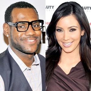 LeBron James, Kim Kardashian