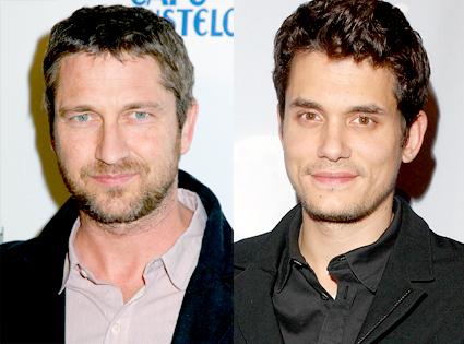 Gerard Butler, John Mayer