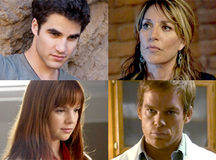 Darren Criss, Glee, Katey Segal, Sons of Anarchy, Amber Tamblyn, House, Michael C. Hall, Dexter