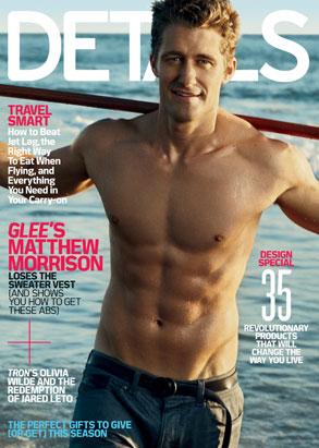 Matthew Morrison, Details Cover