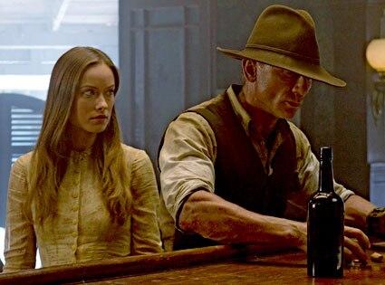 Cowboys and Aliens, Daniel Craig, Olivia Wilde