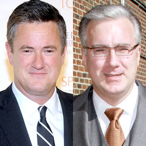 Keith Olbermann, Joe Scarborough