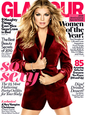 Fergie, Glamour Cover