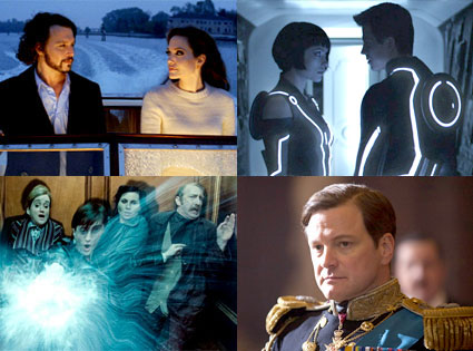 The Tourist, Tron: Legacy, Harry Potter and the Deathly Hallows, King?s Speech