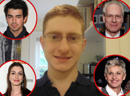 Tyler Clementi, Tim Gunn, Anne Hathaway, Ellen Degeneres, Joe Jonas