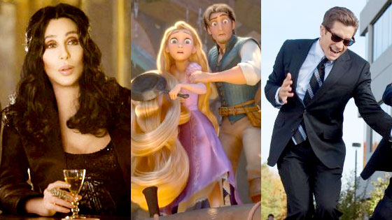 Burlesque, Tangled, Love and Other Drugs