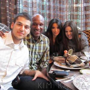 Kim Kardashian, Khloe Kardashian Odom, Robert Kardashian, Lamar Odom