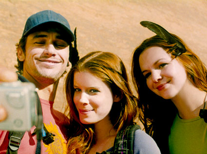 James Franco, Kate Mara and Amber Tamblyn, 127 HOURS
