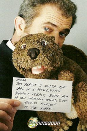 Mel Gibson, The Beaver Poster