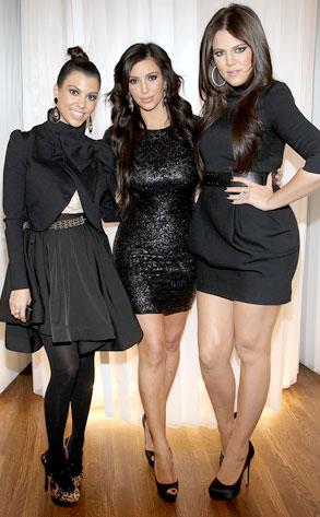 Kourtney Kardashian, Kim Kardashian, Khloe Kardashian Odom