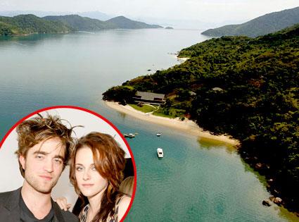 Robert Pattinson, Kristen Stewart, Breaking Dawn Location