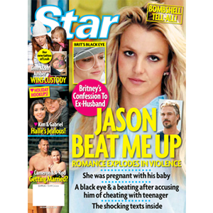 Star Magazine Cover, Britney Spears