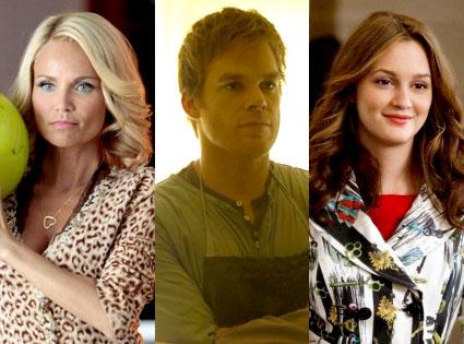 Kristen Chenoweth, Glee, Michael C. Hall, Dexter, Leighton Meester, Gossip Girl