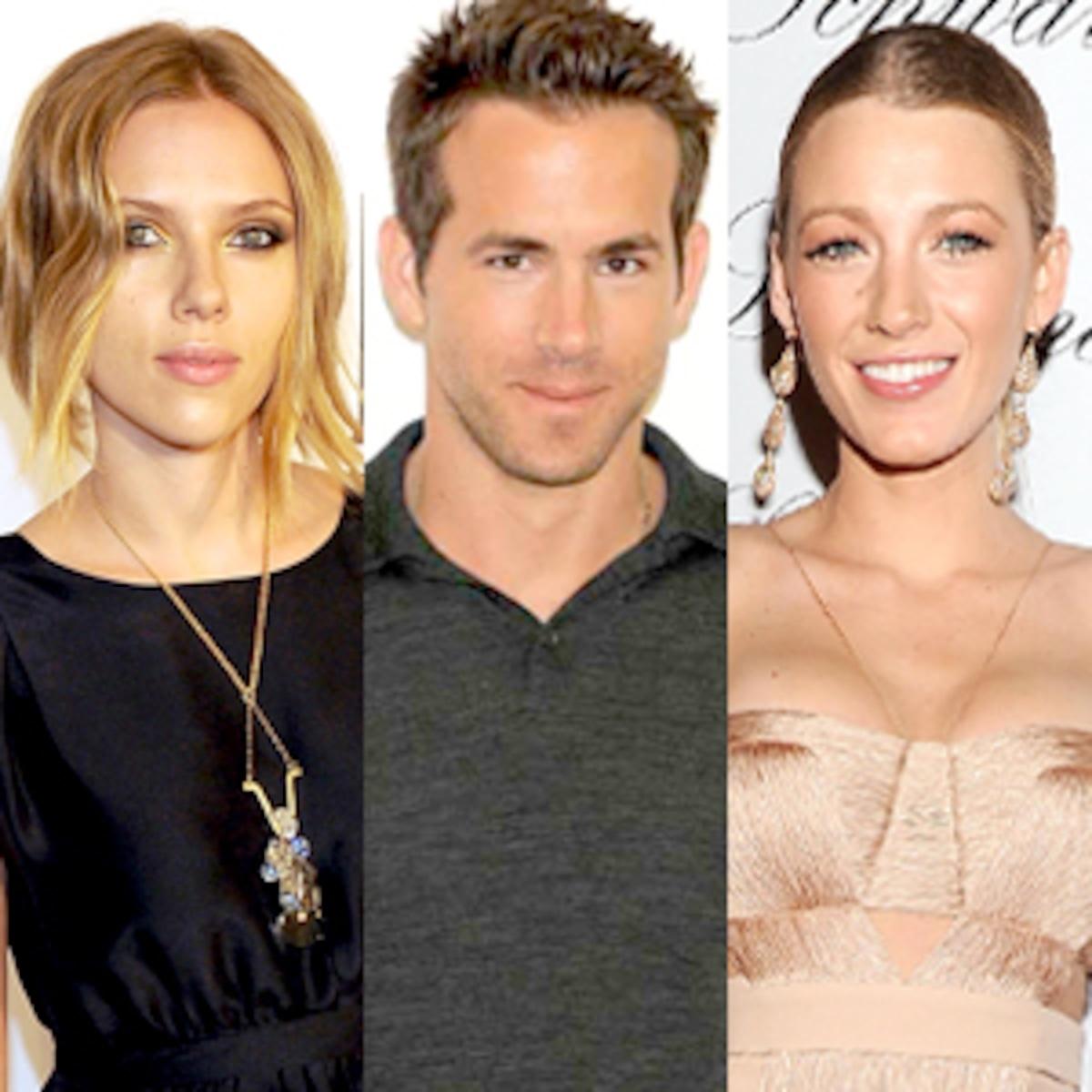 Ryan Reynolds And Scarlett Johansson Split Surely Blake Lively S Not To Blame E Online Ca