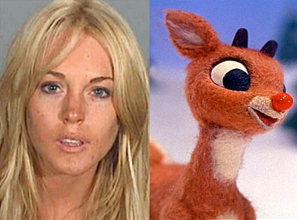 Lindsay Lohan, Rudolph the Red-Nosed Reindeer