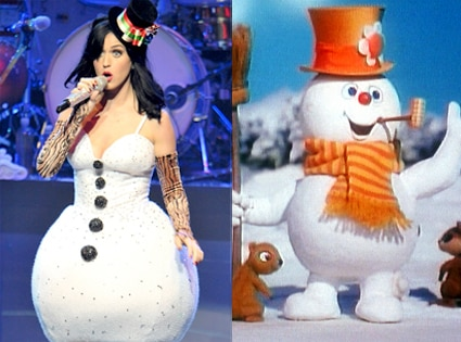 Katy Perry, Frosty the Snowman