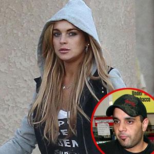 Lindsay Lohan, Sam Lufti