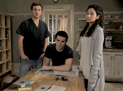Sam Huntington, Sam Witwer, Meaghan Rath,  Being Human