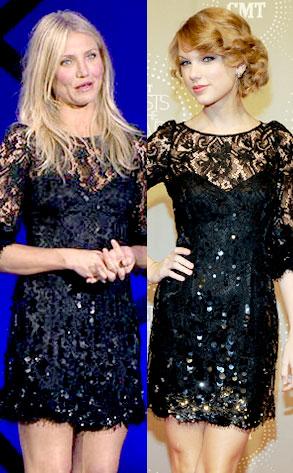 Cameron Diaz, Taylor Swift