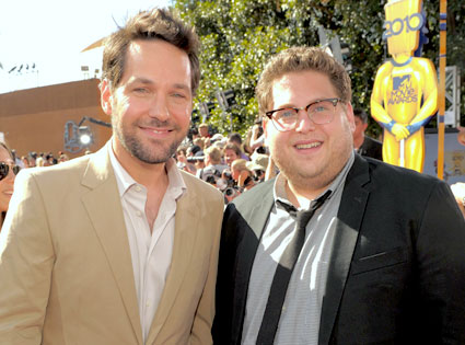 Paul Rudd, Jonah Hill