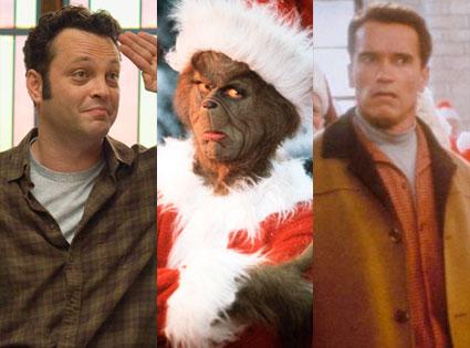 Vince Vaughn, Jim Carrey, Arnold Schwarzenegger