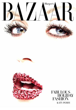 Katy Perry, Harpers Bazaar Cover