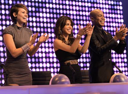 Kimberly Wyatt, Paula Abdul, Travis Payne, Live To Dance