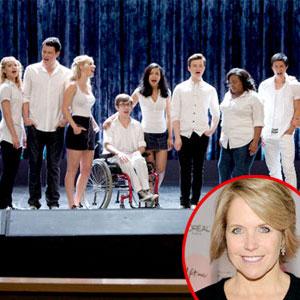 Glee Cast, Katie Couric