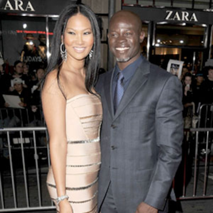 Kimora Lee Simmons Djimon Hounsou
