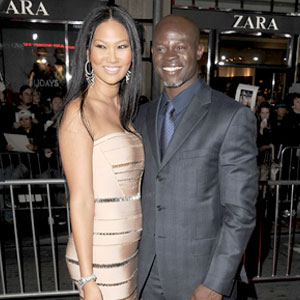 Kimora Lee Simmons, Djimon Honsou