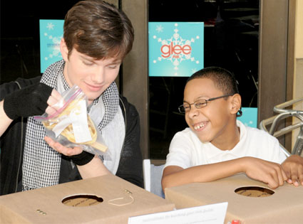 Glee Charity Event, Chris Colfer