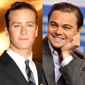 Armie Hammer, Leonardo DiCaprio