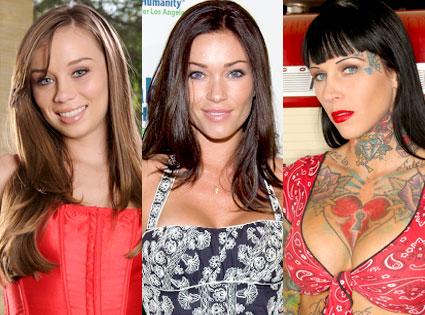 Capri Anderson, Jasmine Waltz, Michelle Bombshell McGee