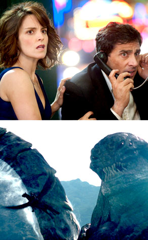 Steve Carell, Tina Fey, Date Night, Clash of the Titans