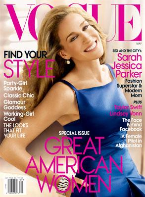 Sarah Jessica Parker, Vogue Cover