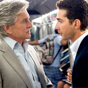 Wall Street Money Never Sleeps, Michael Douglas, Shia LaBeouf