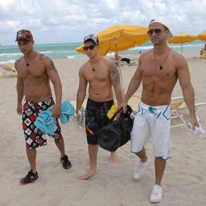Jersey Shore, Pauly D Delvecchio, Vinny Guadagnio, Mike Sorrentino