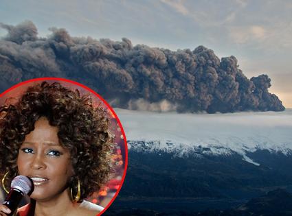 Whitney Houston, Iceland Volcano