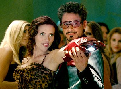 Iron Man 2, Scarlett Johansson, Robert Downey Jr.
