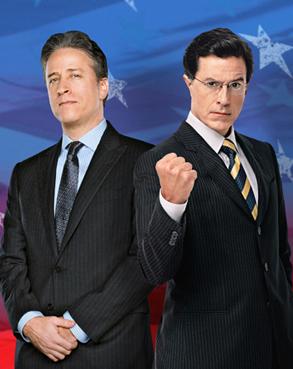 Jon Stewart, Steven Colbert