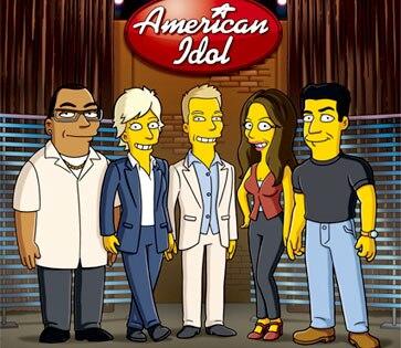 The Simpsons, American Idol