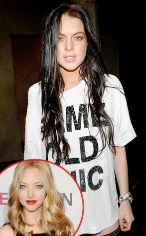 Lindsay Lohan, Amanda Seyfried