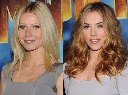 Scarlett Johansson, Gwenyth Paltrow